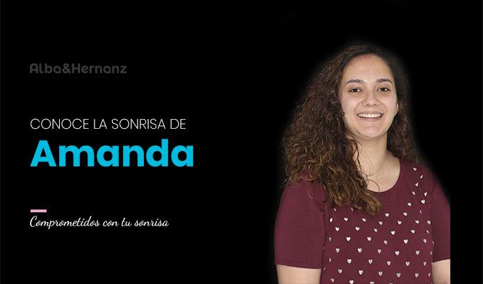 Amanda, 24 años, Brackets de autoligado damon