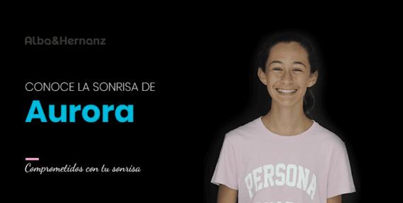 Aurora, 12 años, Brackets de autoligado damon